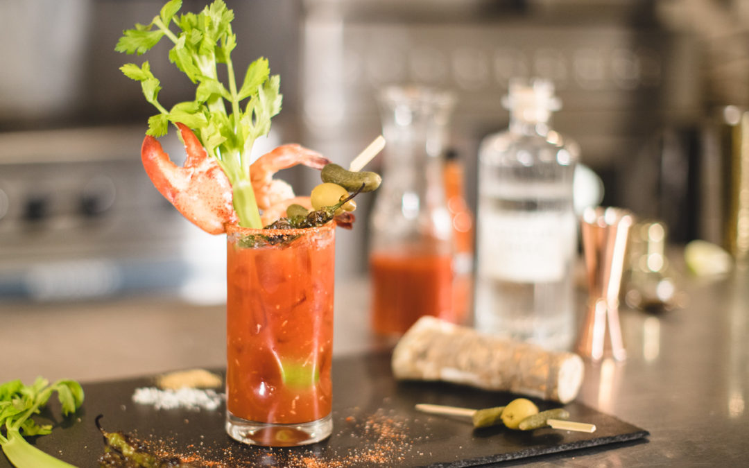 Seafood Extravaganza Bloody Mary