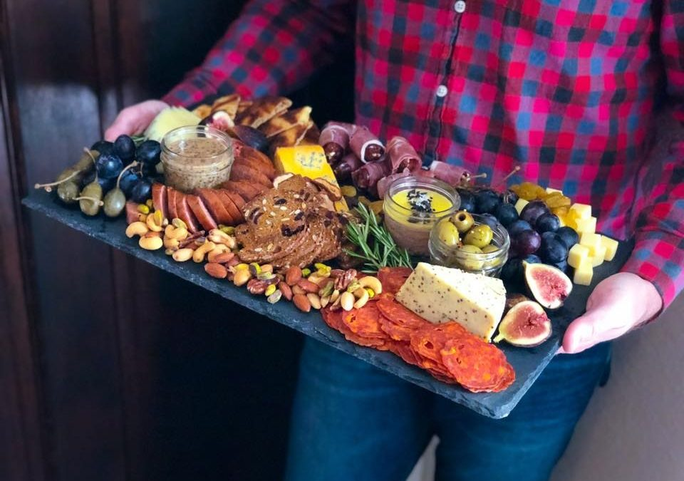 How to Build a Charcuterie Board by Home with a Twist